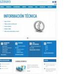 Nueva web de SATINFO