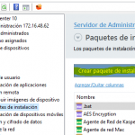 Distribuir Hotfix desde Kaspersky Security Center