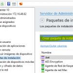 Distribuir Hotfix desde Kaspersky Security Center